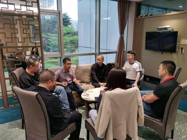广西师范大学MBA中心黄金鑫老师与深圳校友座谈-工作动态-广西师大MBA校友会
